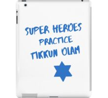 Superheroes Heal the World iPad Case/Skin