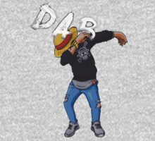 Dab Luffy Dabbin' One Piece - Long Sleeve