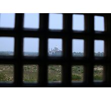 A Prisoners view of the Taj Mahal Photographic Print