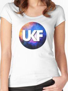 UKF - Galaxy Alt Women's Fitted Scoop T-Shirt