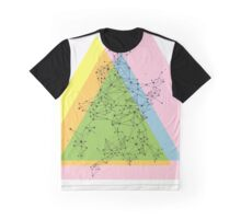 Atomic in Pink and Yellow Graphic T-Shirt