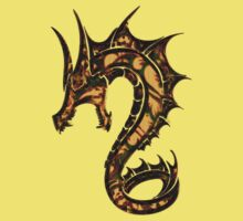 Dragon, Tattoo Style, Fantasy Kids Tee