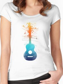Electric Guitar Women's Fitted Scoop T-Shirt