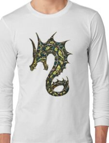Dragon, Tattoo Style, Fantasy Long Sleeve T-Shirt