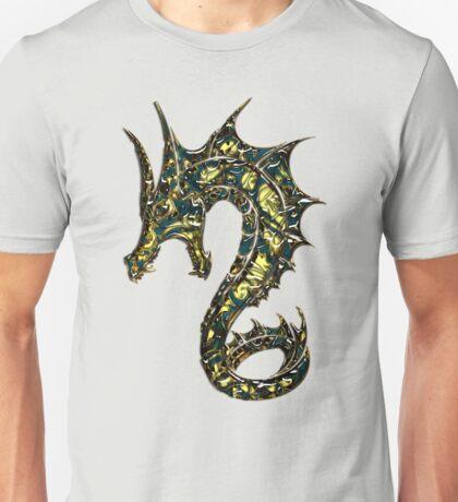 Dragon, Tattoo Style, Fantasy Unisex T-Shirt