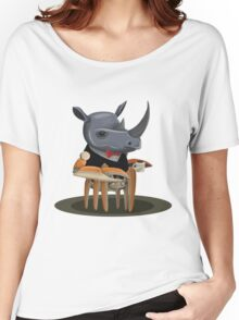 Rhino Crab Women's Relaxed Fit T-Shirt