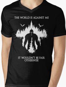 The World Is Against Me Mens V-Neck T-Shirt