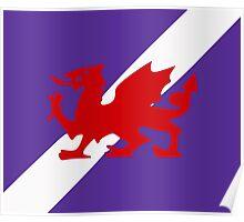 Karia - Wyrmson Flag Poster