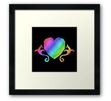 MLP - Cutie Mark Rainbow Special - Princess Cadence Framed Print