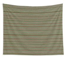 striped christmas knitting pattern Wall Tapestry