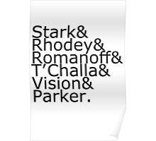 Team Stark Poster