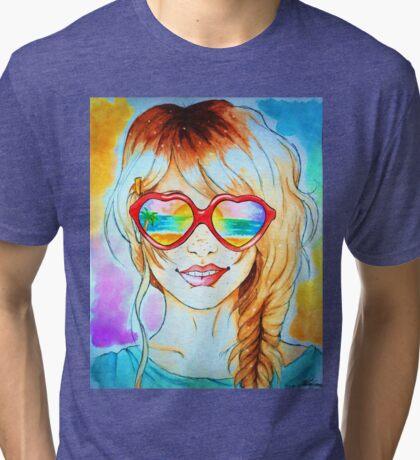Summertime Tri-blend T-Shirt