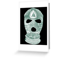 The Ski Mask Way Greeting Card