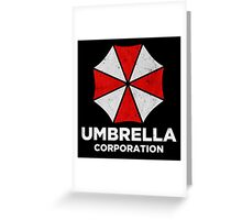Umbrella Corp Greeting Card
