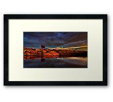 """Evening Glow"" Framed Print"