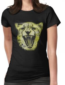 THE CHEETAH T-SHIRT Womens Fitted T-Shirt