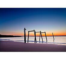 Sunset at Cat Bay Phillip Island, Victoria, Australia Photographic Print