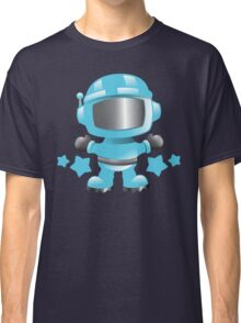 Little cute Space man in a Blue space suit Classic T-Shirt