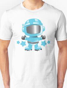 Little cute Space man in a Blue space suit Unisex T-Shirt