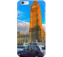 Westminster Bridge And Taxi iPhone Case/Skin