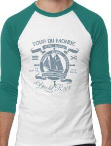 TOUR DU MONDE YACHT RACE Men's Baseball ¾ T-Shirt
