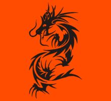 Chinese Tribal Dragon by Agkrippa