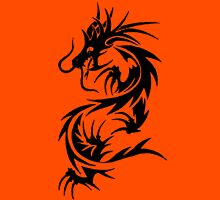 Chinese Tribal Dragon Unisex T-Shirt
