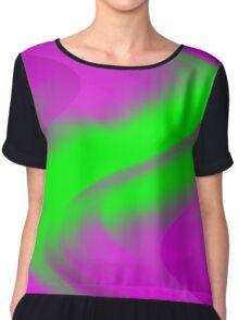 DREAM PATH (Purples & Greens)-(9000 x 9000 px) Chiffon Top