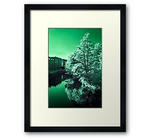 Infra-Red River Framed Print