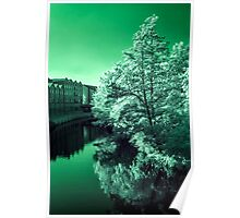 Infra-Red River Poster