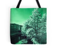 Infra-Red River Tote Bag