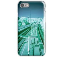 Infra-Red Train Station iPhone Case/Skin