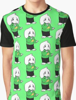 Asriel Dreemurr Coloured Sprte Graphic T-Shirt