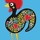 Famous Rooster #03 by Silvia Neto