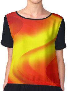 DREAM PATH (Reds, Oranges & Yellows)-(9000 x 9000 px) Chiffon Top