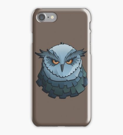 Cynical Owl iPhone Case/Skin