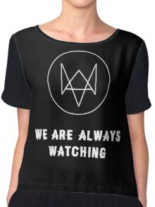 Watch Dogs - Always Watching Chiffon Top
