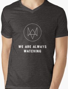Watch Dogs - Always Watching Mens V-Neck T-Shirt