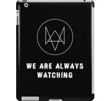 Watch Dogs - Always Watching iPad Case/Skin