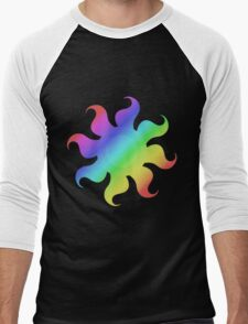 MLP - Cutie Mark Rainbow Special - Princess Celestia Men's Baseball ¾ T-Shirt