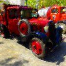 Ancient Citroen Pickup Truck by jean-louis bouzou