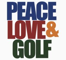 Peace love and GOLF by Boogiemonst
