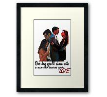 Tony and Ziva - One Day Framed Print