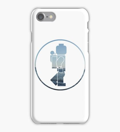 The Lego Backpacker Logo iPhone Case/Skin