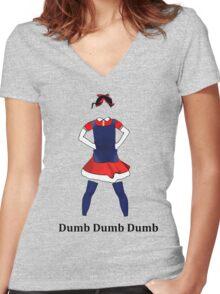 Yeri - Red Velvet Women's Fitted V-Neck T-Shirt