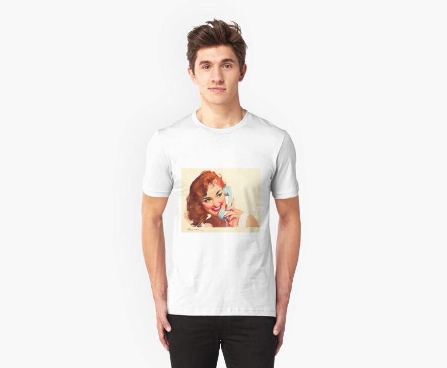Gil Elvgren Appreciation T-Shirt no. 10. by masspleasurestv