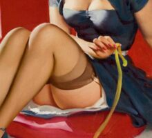 Gil Elvgren Appreciation T-Shirt no. 11. Sticker