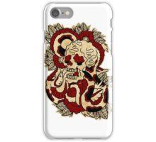 Skull & Snake iPhone Case/Skin