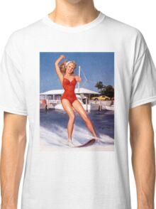 Gil Elvgren Appreciation T-Shirt no. 12. Classic T-Shirt