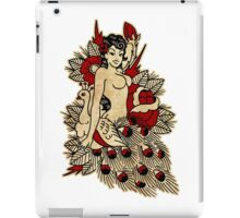 Pinup & Peacock iPad Case/Skin